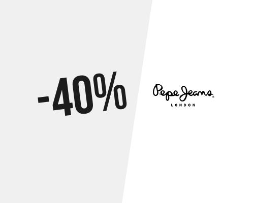 40% → Codice sconto Pepe Jeans a Marzo 2020
